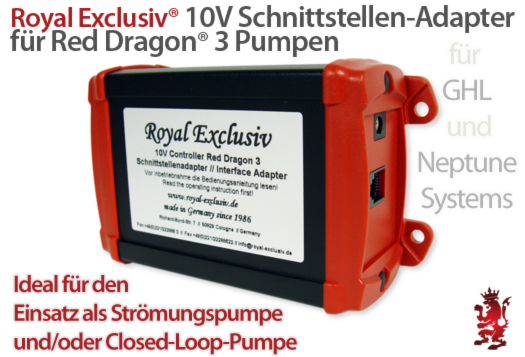 Royal Exclusiv 10V Schnittstellenadapter