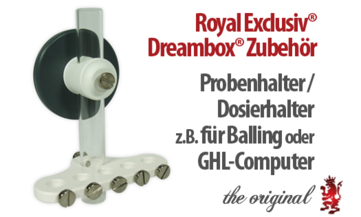 Dreambox Probenhalter