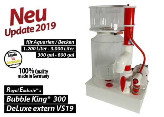 Royal Exclusiv Bubble King DeLuxe 300 external extern Abschaeumer skimmer