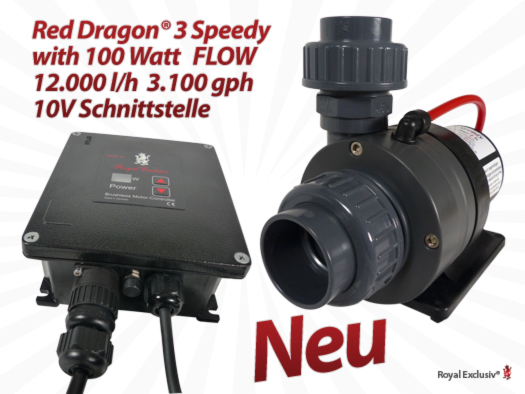 Royal Exclusiv Red Dragon 3 mit 100W DRUCK VERSION