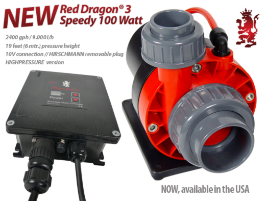 Royal Exclusiv Red Dragon 3 with 100W HIGH PRESSURE