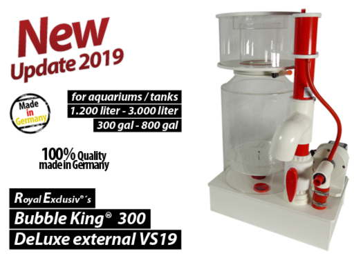 Royal Exclusiv Bubble King DeLuxe 300 external skimmer