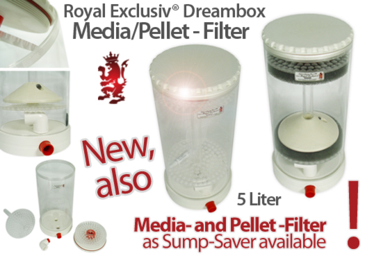 Royal Exclusiv Dreambox Pellet// Medien filter