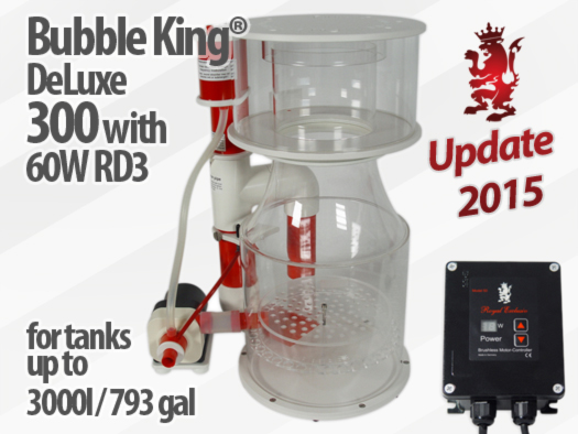 Royal Exclusiv Bubble King Deluxe 300 Version 2015 Abschäumer