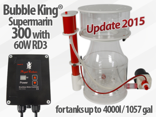 Royal Exclusiv Bubble King Supermarin 300 Version 2015 Abschäumer