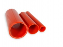 PVC pipe red