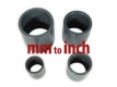 PVC pipe socket / bushing Ø 40mm - 1.25