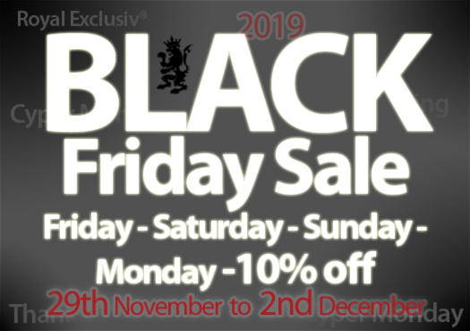 Royal Exclusiv Black Friday