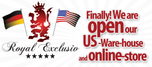 Royal Exclusiv USA. Open now!
